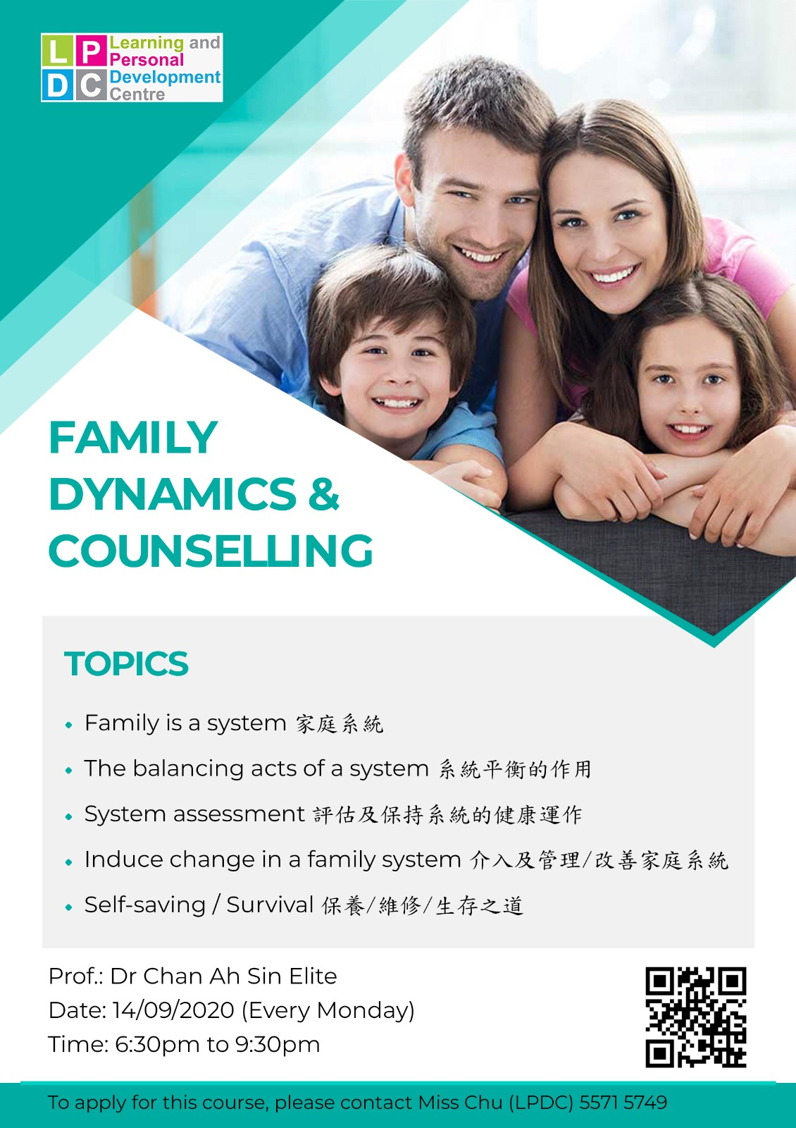 Family Dynamics & Counselling