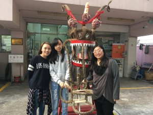 2016年11月 「好一個大坑」火龍製作活動Nov 2016 Dragon Head Making Activity